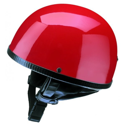 Redbike Halbschalenhelm RB 500, rot Größe S