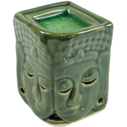 Guru-Shop Duftlampe Exotische Duftlampe, Aromalampe Keramik Buddha..
