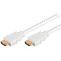 M-Cab High-Speed-HDMI-Kabel mit Ethernet weiß 1,5m (7003011)