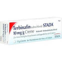 Terbinafinhydrochlorid STADA 10mg/g Creme