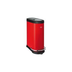 Wesco Abfalleimer Kick Two in rot, 20 + 16 l