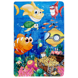 Fische Kinderteppich (Under the Sea; 100 x 150 cm)