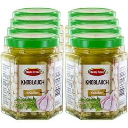 Beste Ernte Knoblauch in Kräutermarinade 170 g, 8er Pack