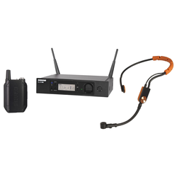 Shure GLXD14R/SM31 Digitales Funksystem mit SM31FH Fitness-Headset