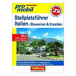 Stellplatz-Atlas Italien Promobil - Buch