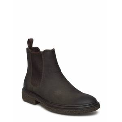 ECCO Crepetray Hybrid M Shoes Chelsea Boots Braun ECCO Braun