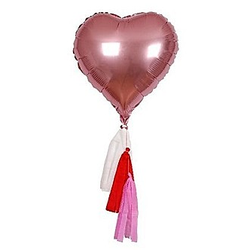 Heart Mylar Balloon Kit S/6