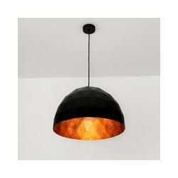 Design Hängelampe Schwarz Kupfer Esstisch Küche
