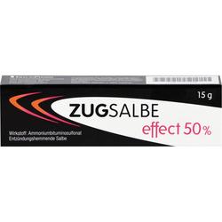 ZUGSALBE effect 50% Salbe 15 g