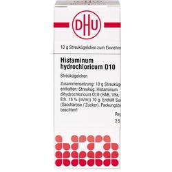 HISTAMINUM hydrochloricum D 10 Globuli 10 g