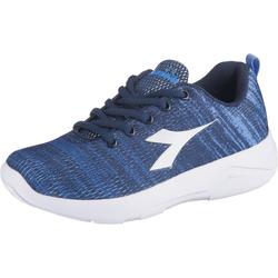 Diadora Sportschuhe weiß / blau, Größe 36, 4236200