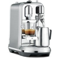 sage Nespresso Creatista Plus gebürstetes edelstahlgrau