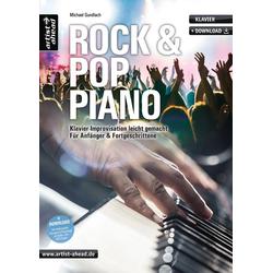 Rock & Pop Piano inkl.CD als Buch von Michael Gundlach