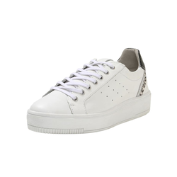 Sneaker Low Platform-Sneaker COX weiß