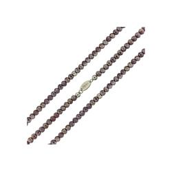 MY iMenso Wickelarmband mit facettierten Kristallen grau
