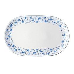 Arzberg Form 1382 Blaublüten Platte oval 32 cm Form 1382 Blaublüten 41382-607671-12732
