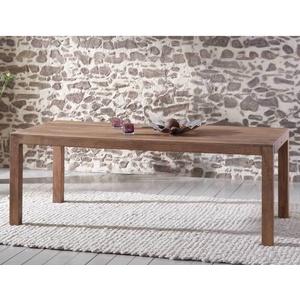Esstisch Guru 6610 210x100 Akazie Massiv Stone Tisch Von Wolf Möbel