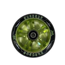 AO Quadrum 10-Star 100 mm Wheel green Rolle Stund Scooter
