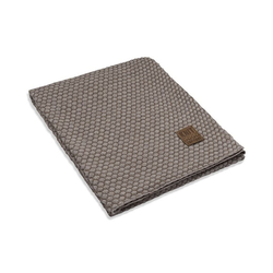 Wohndecke Juul Plaid Marron/Beige, Knit Factory, Mode