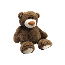 Teddybär 80 cm Braun Nounours Teddy Plüsch