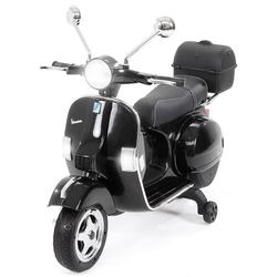 Actionbikes Motors Elektro-Kinderroller Kinder Elektroroller Piaggio Vespa PX150, Belastbarkeit 35 kg, Roller - Motorrad - bis 35kg belastbar schwarz
