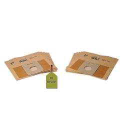 eVendix Staubsaugerbeutel 10 Staubsaugerbeutel Staubbeutel passend für Staubsauger Clatronic 1250 IE, passend für Clatronic