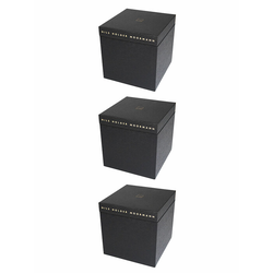 Nils Holger Moormann Archivbox für FNP Regal – groß schwarz, Designer Nils Holger Moormann, 32.5x32.5x34 cm