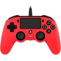NACON PS4 Compact Controller rot