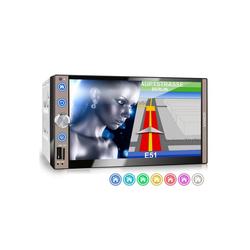 XOMAX Audio-System (XOMAX XM-2VN767 2DIN Navi Autoradio mit GPS, SD, USB und BLUETOOTH)