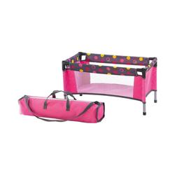 CHIC2000 Puppenhausmöbel Puppen-Reisebett Dark Pink