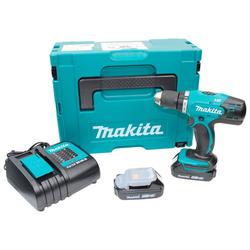 Makita Akku-Bohrschrauber, max. 1300 U/min, inkl. 2 Akkus & Ladegerät
