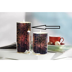 JOKA international LED-Kerze LED Kerze 3D Feuerwerk 16745 (1-tlg)