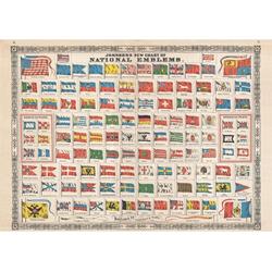 Piatnik Puzzle Piatnik 5531 Nationalflaggen 1000 Teile Puzzle, Puzzleteile bunt
