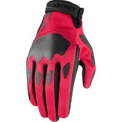 Icon Hooligan, Handschuhe Damen - Pink/Schwarz - M