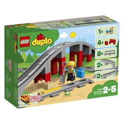 Eisenbahnbrücke und Schienen