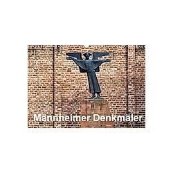 Mannheimer Denkmäler (Wandkalender 2021 DIN A3 quer)