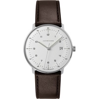 Junghans max bill Quarz Leder 38 mm 041/4461.04