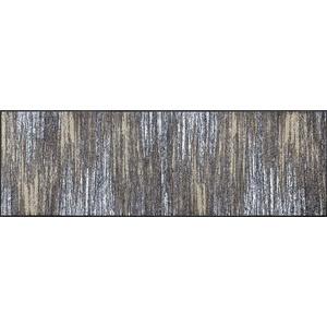 wash+dry Fußmatte, Scratchy beige 60x180 cm, innen und außen, waschbar