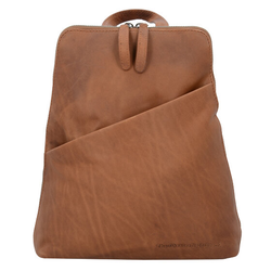 The Chesterfield Brand Wax Pull Up Claire City Rucksack Leder 28 cm cognac