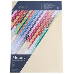 artoz Briefpapier Mosaic elfenbein DIN A4 90 g/qm 25 Blatt