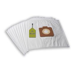 eVendix Staubsaugerbeutel Staubsaugerbeutel passend für Moulinex Design, 10 Staubbeutel + 2 Mikro-Filter ähnlich wie Original Moulinex Staubsaugerbeutel 250, A 82, passend für Moulinex