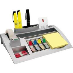 Post-it Desk Organizer C50 7000062207 Tischorganizer Silber (metallic) Anzahl der Fächer: 7
