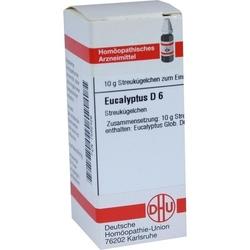 EUCALYPTUS D 6 Globuli 10 g