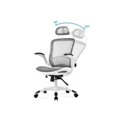 Sross Drehstuhl Chefsessel Bürostuhl aus Mesh
