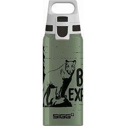SIGG BRAVE MOUNTAIN 0.6 L Trinkflasche ALU mit WMB ONE TOP  BPA frei  Auslaufs