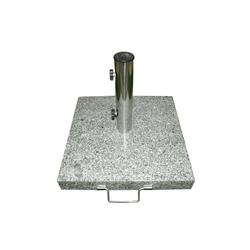 VCM Betonschirmständer Sonnenschirmständer 25kg Granit