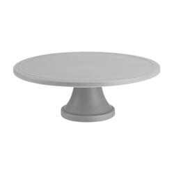 Birkmann Tortenplatte Trend Grau Matt 31 cm, Keramik