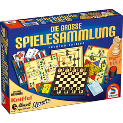 Schmidt Spiele Spielesammlung, Die große Spielesammlung