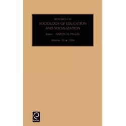 Res Soc Ed Soc V10 als Buch von Pallas/ Aaron M. Pallas