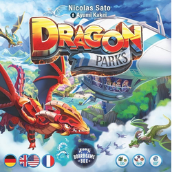 Board Game Box Spiel, Brettspiel Dragon Parks